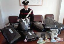 arresto sequestro droga campomarino cc