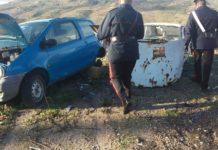 autovettura danneggiata