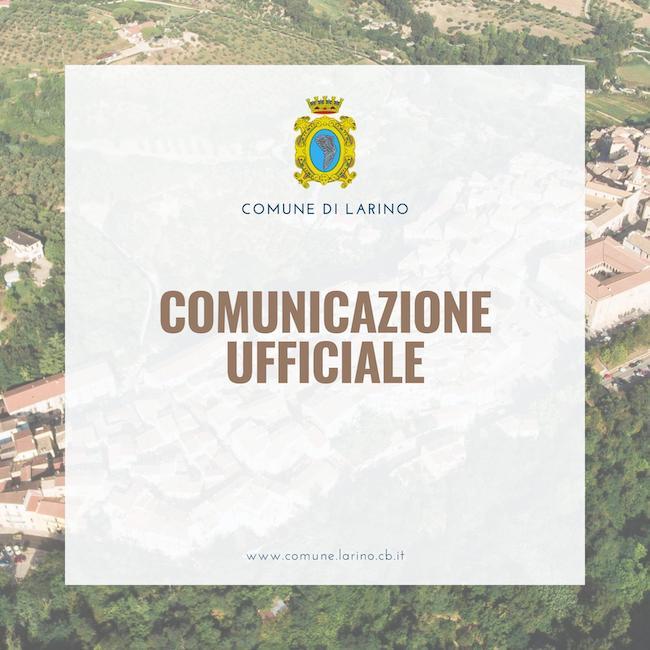 comunicazione larino