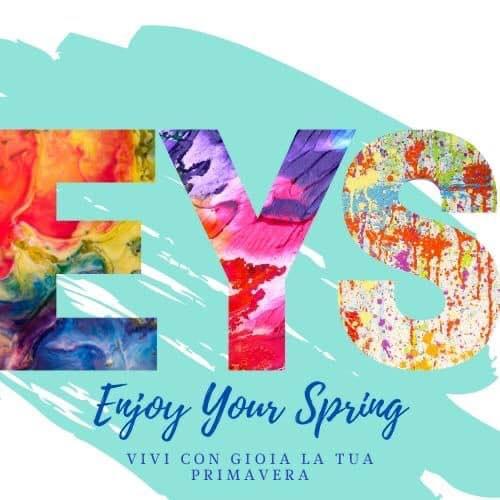 enjoy your spring logo