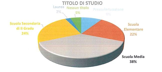 grafico titolo di studio