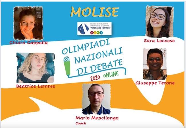 olimpiadi debate alfano
