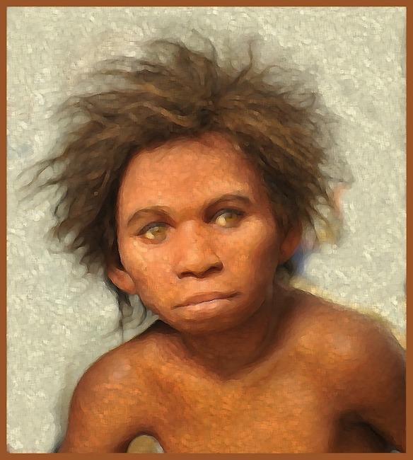 bambino paleolitico