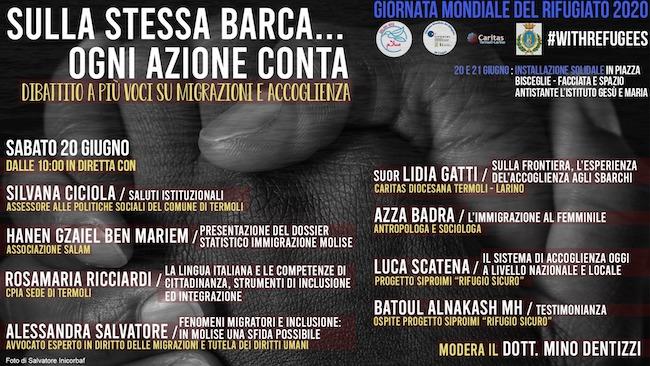 Giornata mondiale del rifugiato a Termoli