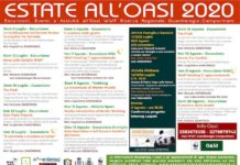 calendario estate oasi 2020
