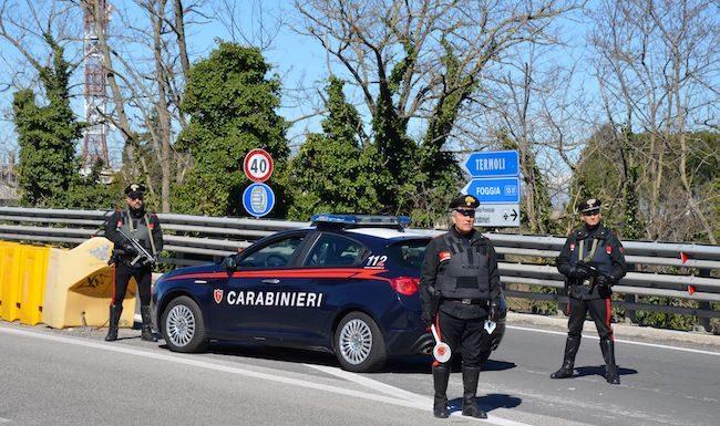 controlli carabinieri campobasso