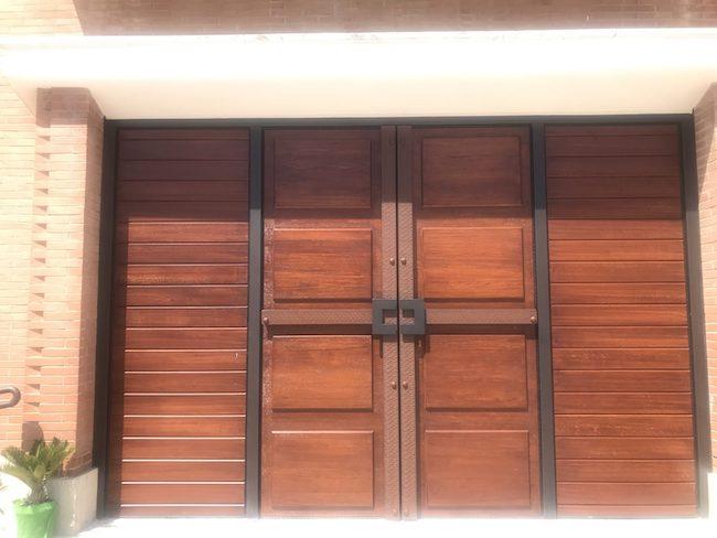 nuova porta chiesa San Rocco Petacciato
