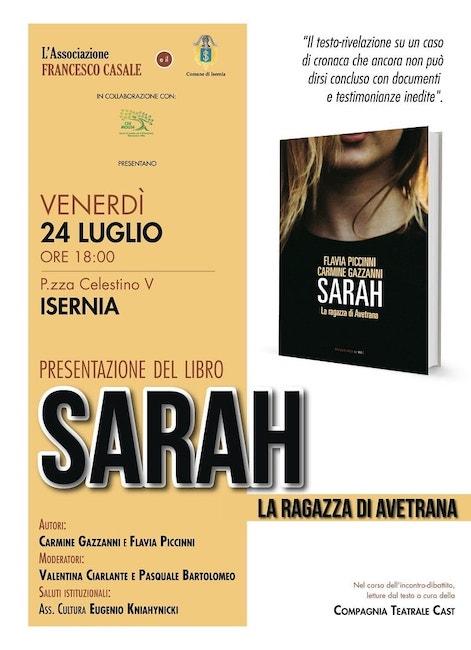 sarah 24 luglio 2020