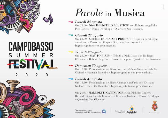Campobasso Summer Festival 2020