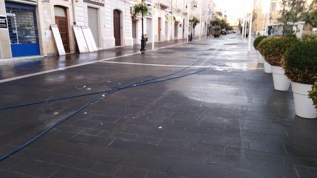 lavaggio strade termoli