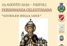 locandina perdonanza celestiniana 29 agosto 2020