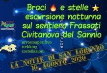 notte san lorenzo 2020 civianova del sannio