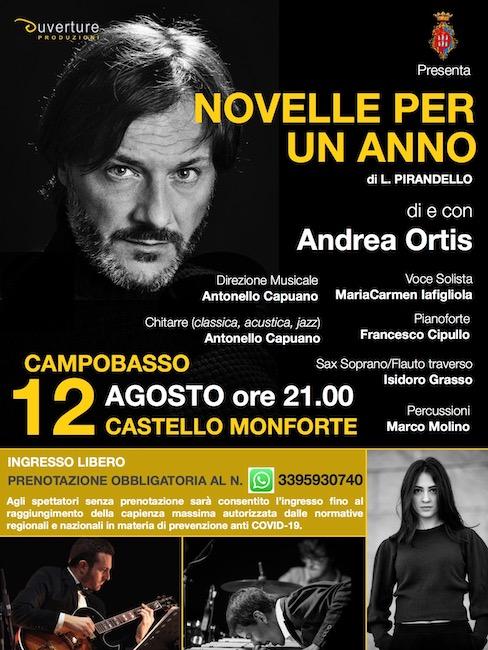 Novelle per un anno di Pirandello a Castello Monforte