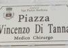 targa piazza vincenzo di tanna