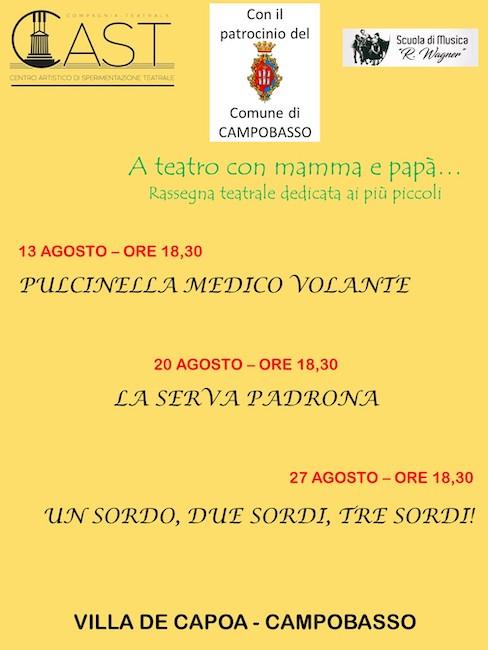 teatro bambini 13-20-27 agosto