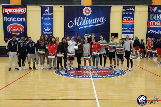 Quarto torneo Campobasso per lo sport premiazione magnolia