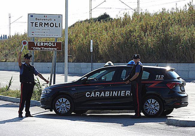 carabinieri termoli