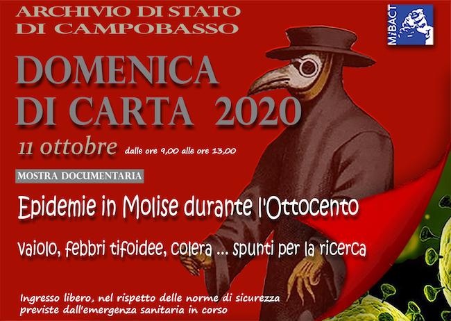 domenica di carta 2020 Campobasso