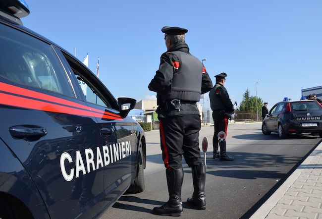 posto blocco carabinieri mirabello sannitico