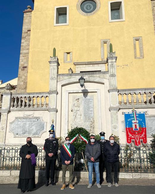 monumento celebrazioni Pietracatella