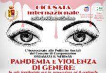 Pandemia e violenza di genere 25 novembre 2020