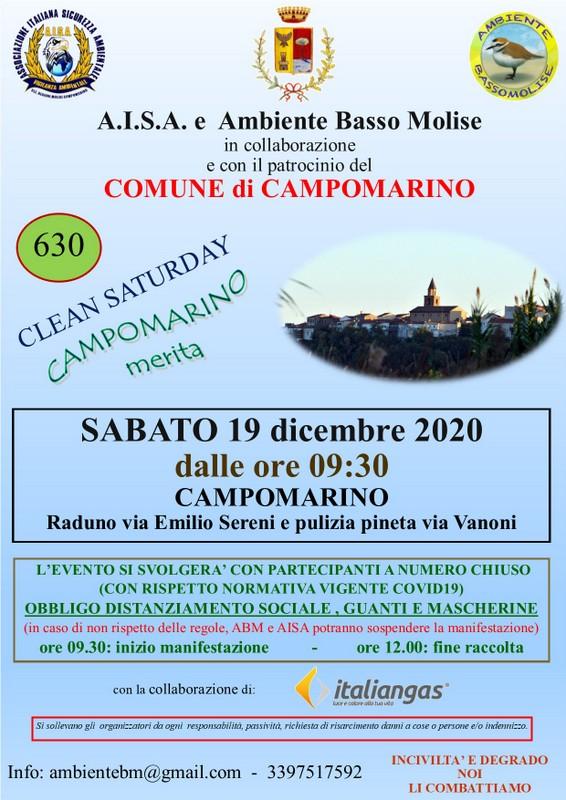 clean saturday 19 dicembre 2020