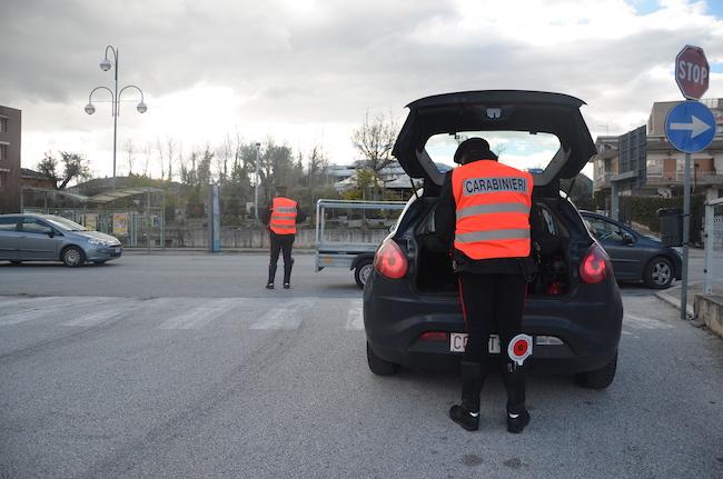 controlli natale carabinieri