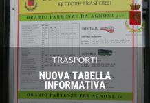 trasporti tabella informativa agnone