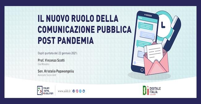 il nuovo ruolo della comunicazione pubblica