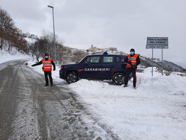 carabinieri montefalcone nel sannio