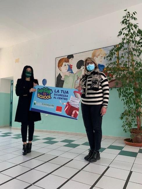 mask to school