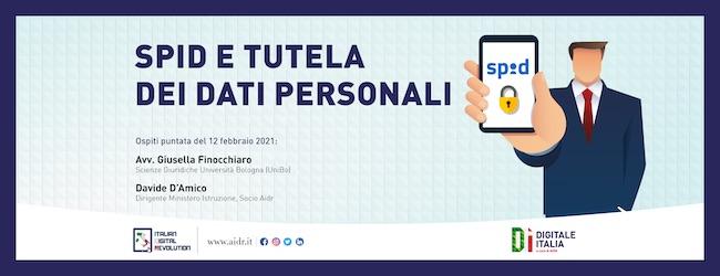 spid tutela dati personali