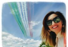 Le Frecce Tricolori compiono 60 anni, gli auguri di Sabrina Lallitto