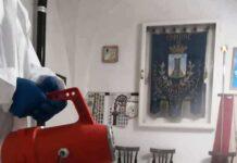 Roccamandolfi: sanificati il Comune, la chiesa di San Giacomo Maggiore e la scuola d'infanzia