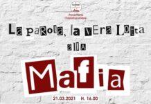 locandina la parola la vera lotta alla mafia
