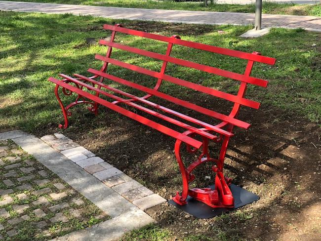 panchina rossa Campobasso
