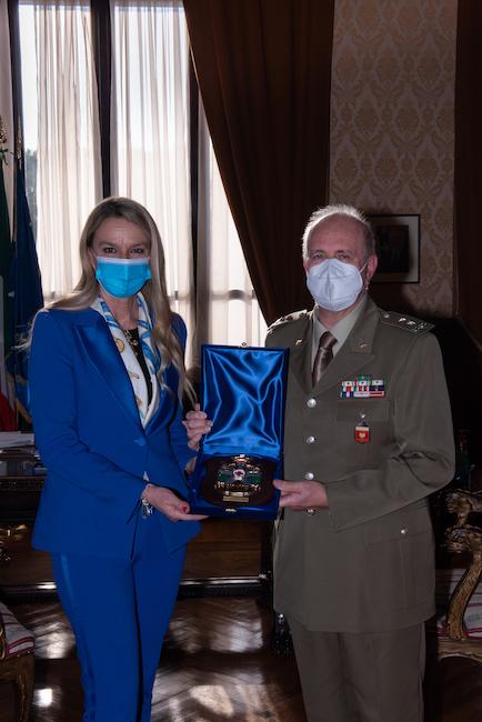 Il Sottosegretario Pucciarelli e il Generale Lupini