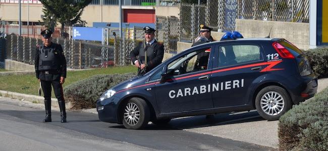 blocco carabinieri