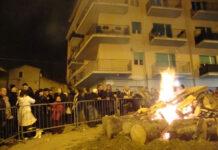 fuoco sant'antonio Campobasso