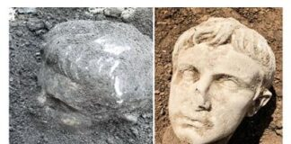 rinvenimento testa marmorea Isernia