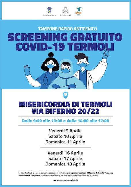 screening gratuito termoli