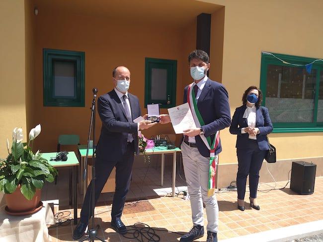attestato stima sindaco Campobasso