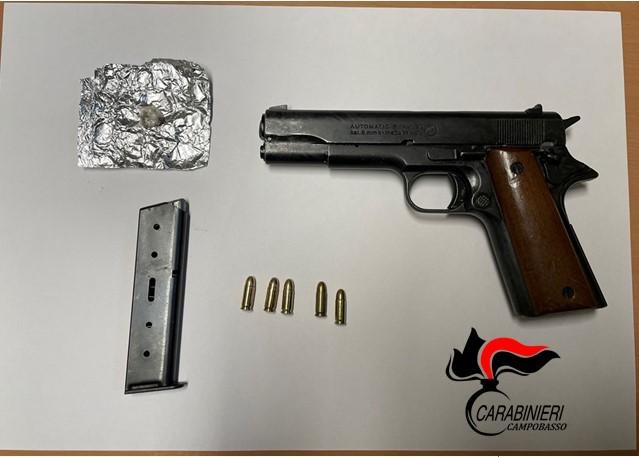 pistola eroina