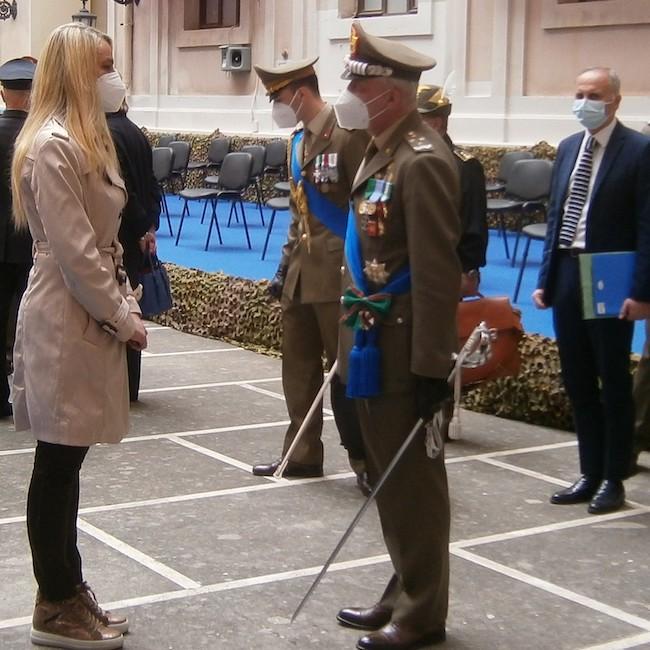 Cerimonia per i 160 anni dalla costituzione dell'Esercito Italiano
