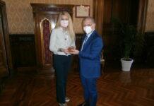 Il Sottosegretario Pucciarelli e il Generale Zafarana