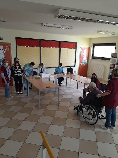vaccinazione centro san damiano