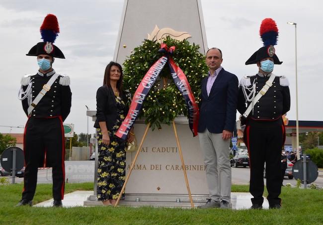 cerimonia caduti 25 giugno 2021