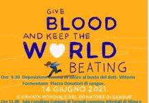giornata del donatore 14 giugno 2021
