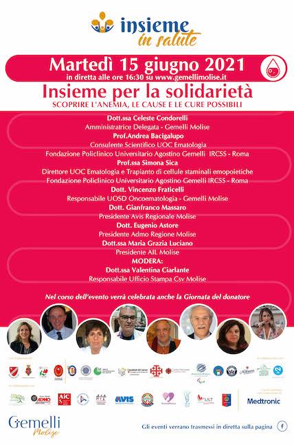 insieme per la solidarietà 15 giugno 2021