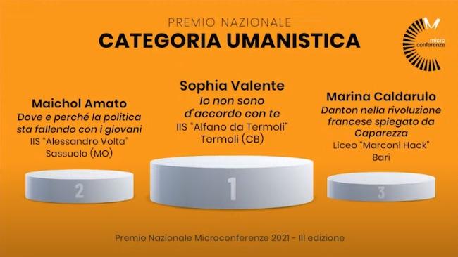 premio nazionale umanistica